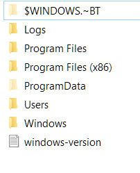 What Is the $WINDOWS.~BT folder in Windows 10? Can You Delete It?