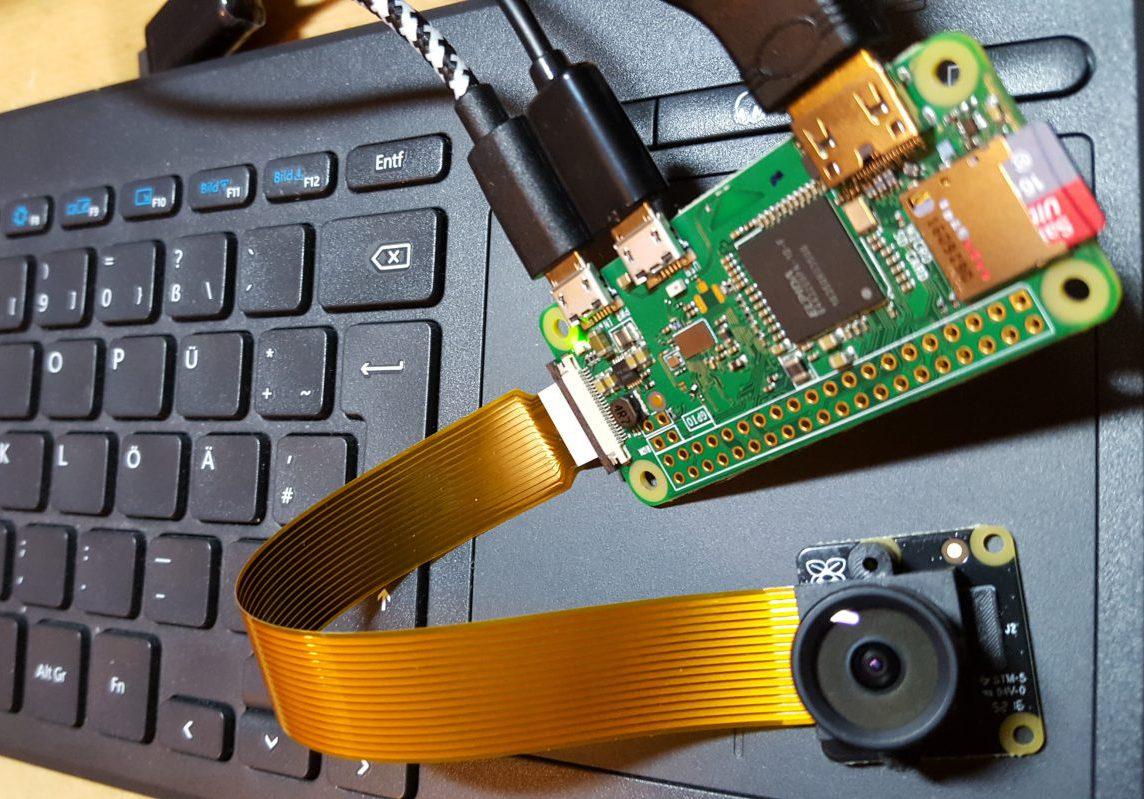 RPi Zero W, schnell Grundkonfiguration für WIFI, SSH und Kamera 8MP NOIR mit sondern fisheye Objektiv