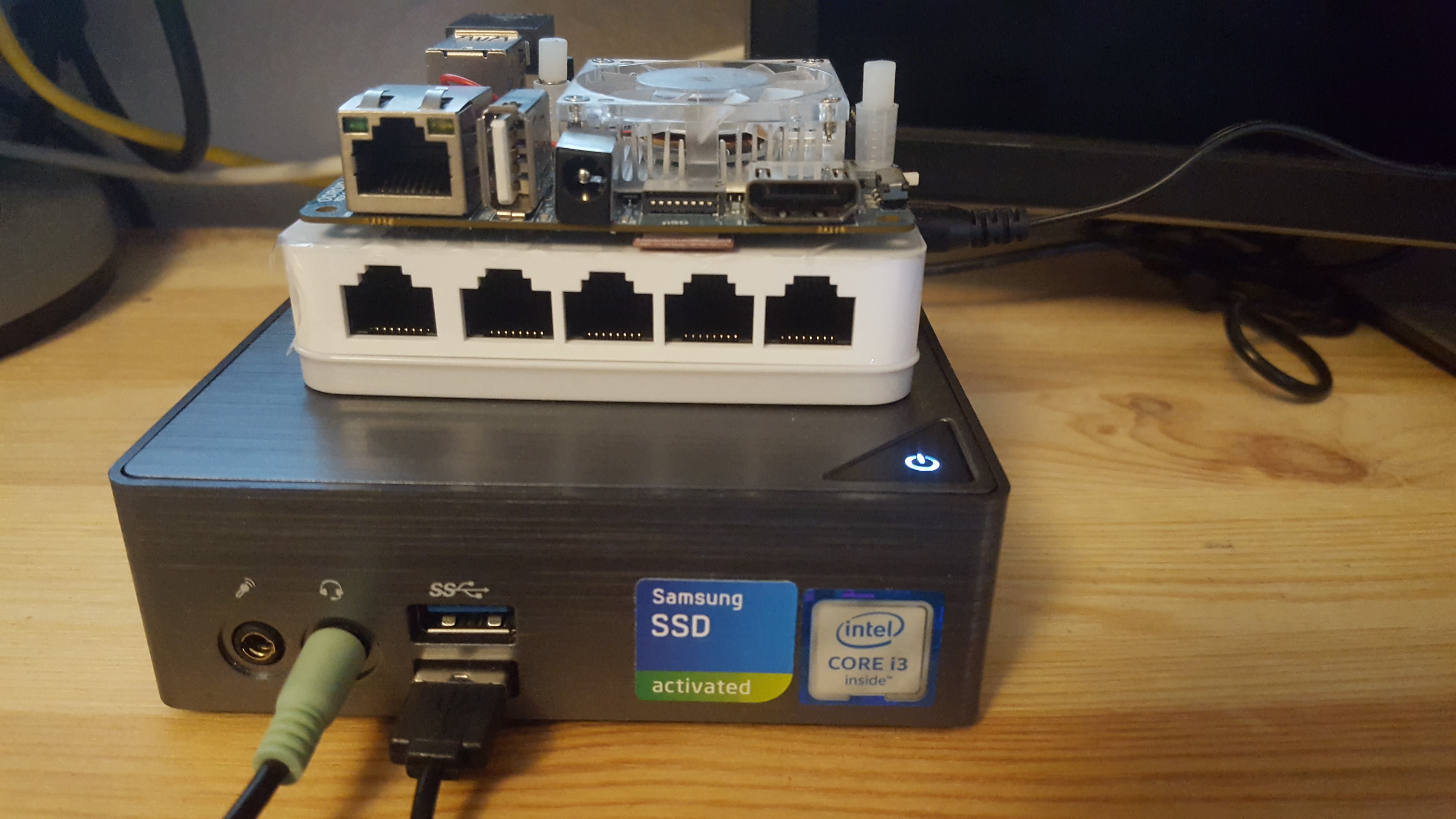 dev environment for fast development with odroid xu4, mini PC and switch, without virtualization