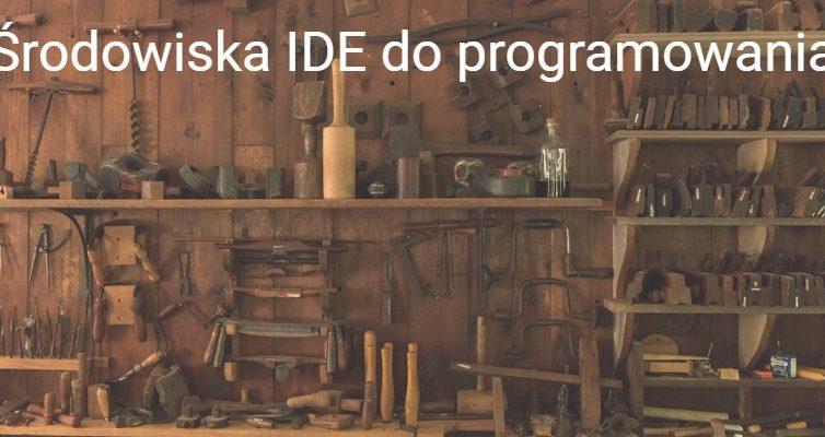 Środowiska IDE doprogramowania wjęzyku Python, PTVS, Pycharm, Komodo, NEON