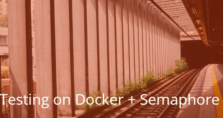 Python Django in Docker implementation and Semaphore testing