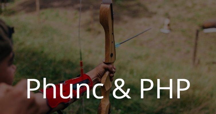 Phunc / funkcjonalna implementacja PHP wteorii
